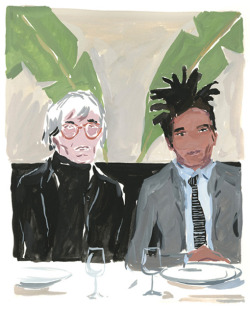 swellny:  Warhol and Basquiat by Jean-Philippe Delhomme.