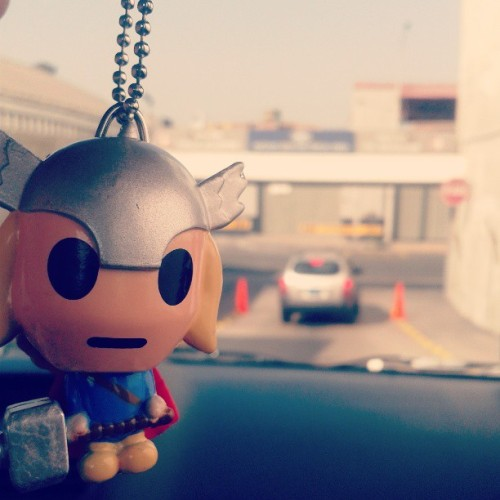 Say hello to little Thor #thor #keychain #marvelobsessed