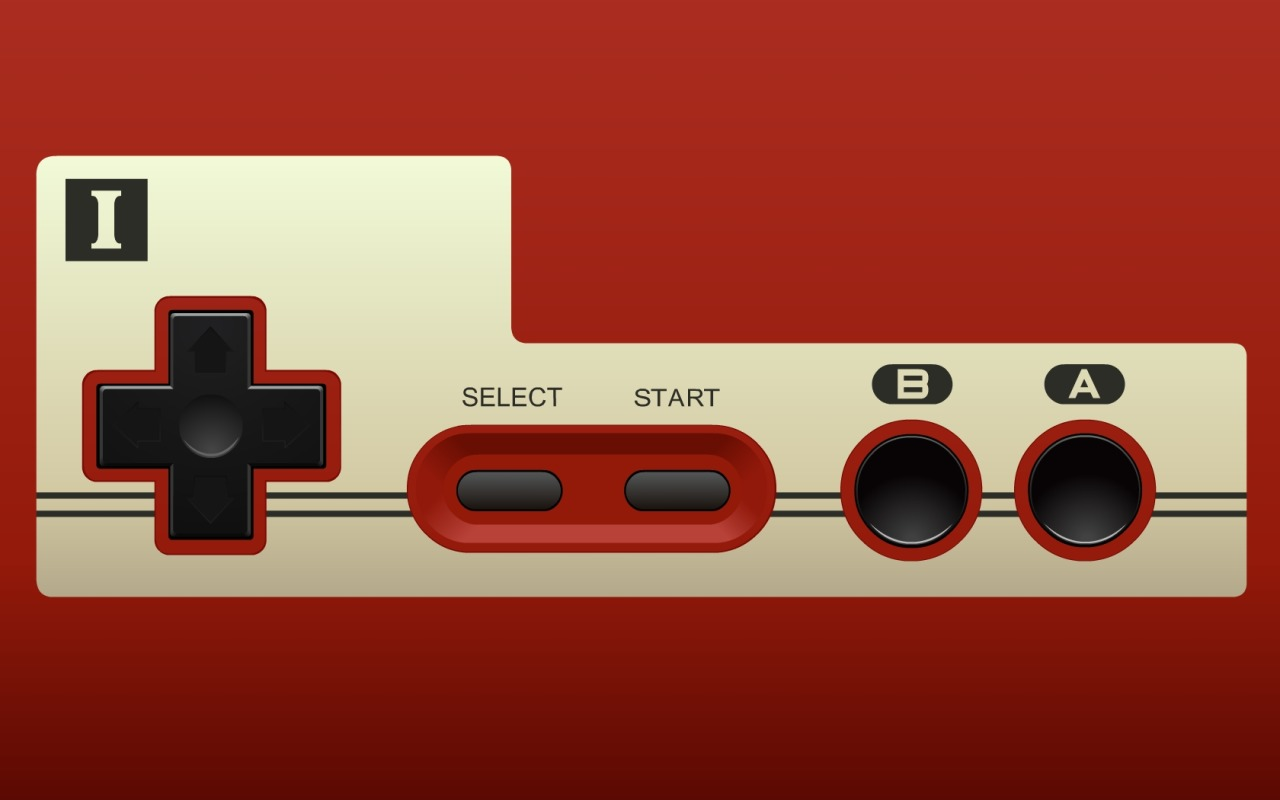 it8bit:  Wallpaper Wednesday Download NES Controller, Gameboy, NES 2, SNES and Famicom. Created by Doctor-G  Really well done gaming posters.