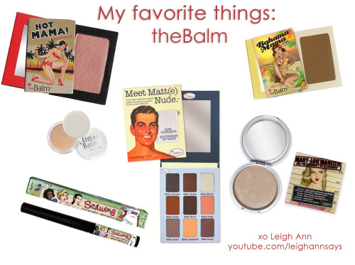 these are some of my favorite things by @thebalm on Hautelook today! Check out the event:: http://www.hautelook.com/short/3xTHI