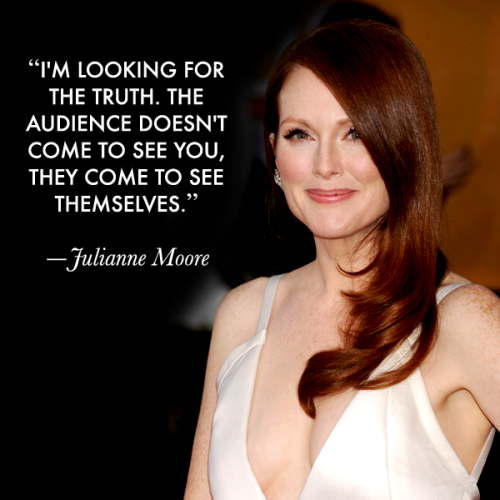 Actors on Acting: Julianne Moore