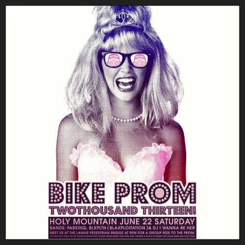 Bike Prom 2013 at the Holy Mountain. FREE EVENT! June 22, 2013..be there!