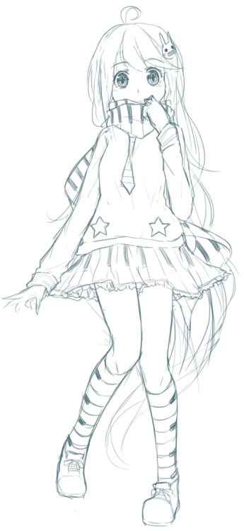 baka-kouhai:   WIP -  DTA   ahh i want her so bad!! she;s so cute. putting assignments and commissions aside to get this done in time ; q;  she's created by enzouke. click here to join. deadline is may 27th.  you have to be a watcher to join btw. ; 7;