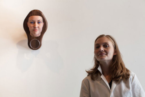 "bin42:  From ""Creepy or Cool? Portraits Derived from the the DNA in Hair and Gum Found in Public Places"" (Smithsonian)  …the ""Stranger Visions"" project is a startling reminder of advances in both technology and genetics. ""It came from this place of noticing that we are leaving genetic material everywhere,"" says Dewey-Hagbog. ""That, combined with the increasing accessibility to molecular biology and these techniques means that this kind of science fiction future is here now. It is available to us today. The question really is what are we going to do with that?""  Moral: Be careful where you leave your DNA!  The craziest thing to me is that this tech is really similar to my Exploravision project from 2001. 12 years, 20 years …"