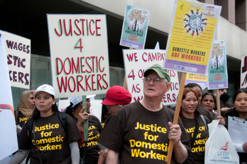 thepeoplesrecord:  California Domestic Workers Demand Bill of Rights