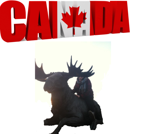 going to canada tomorrow can't wait hope it doesn't take too long on moose back