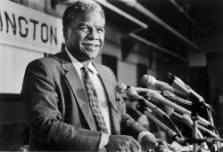 Mayor Harold Washington, date unknown, Chicago, Illinois. Photograph by Antonio Perez. Want a copy of this photo?  > Visit our Rights and Reproductions Department and give them this number: iChi-24903 Connect with the Museum