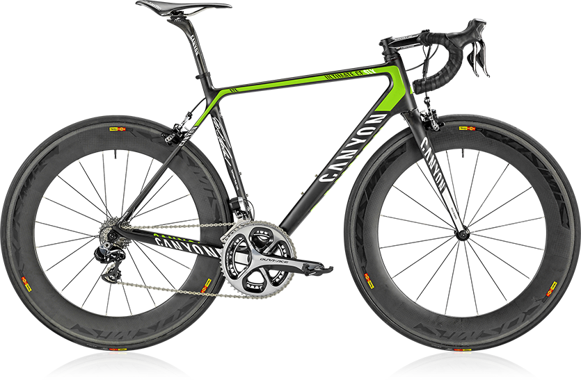 Canyon CD SLX 9.0 ETE road bike.  Please remember to like our Facebook page: https://www.facebook.com/CyclingScene