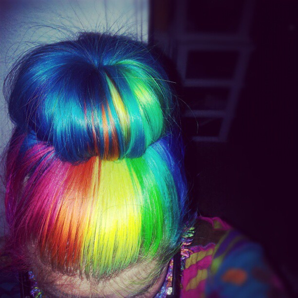 happycolorfulhair:  ^~^ by Megan is me… on Flickr.