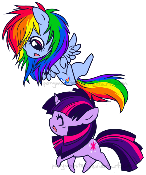 twidashlove:  Adorable Friday? Yep. Adorable Friday~ Source: ponymonster