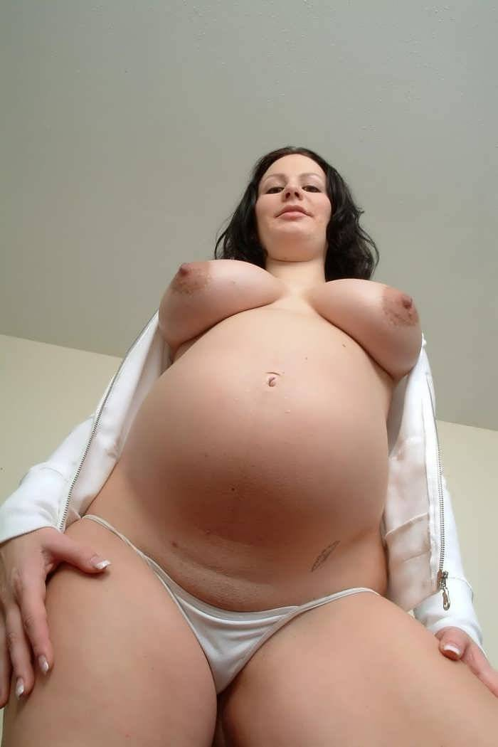 Pregnant and lactating pussy