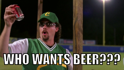 The dumbest question Kenny Powers ever asked.