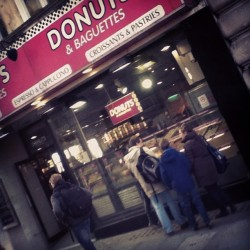Donuts!!! (at Oxford Circus London Underground Station)