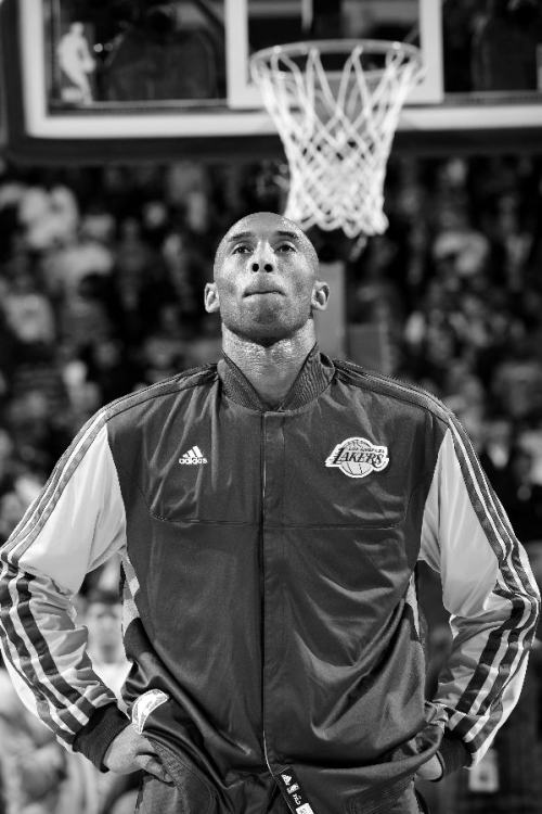 essentialsick:  Kobe Black & White
