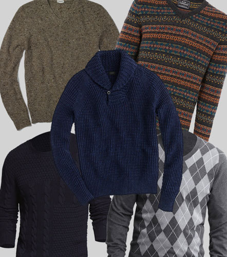 Don't worry, you don't have to part with big bucks for a cashmere sweater if you're looking for warmth and style. Step up your solid color sweater collection and incorporate details such as texture and prints. Here's a roundup of our favorite five wallet-friendly options.
