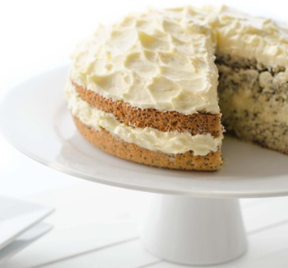 findvegan:  Vegan Orange and Poppy Seed Cake Recipe