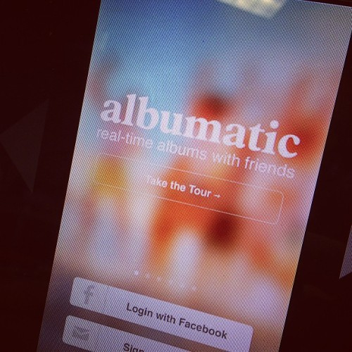 Sorry Instagram. I'm going to be cheating on you with Albumatic. #next #big #thing #instagood #download #now #ios #social #app  (at Tesla Motors Los Angeles Office)