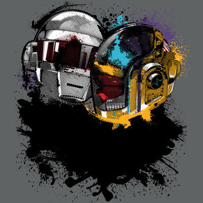 gamefreaksnz:  Something About Us by inkOne on sale 4/25 US $10 for 24 hours only Artist: Redbubble | Facebook | Tumblr