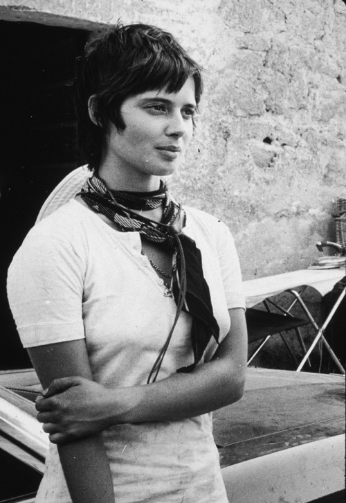 superseventies:  Isabella Rossellini, 1972