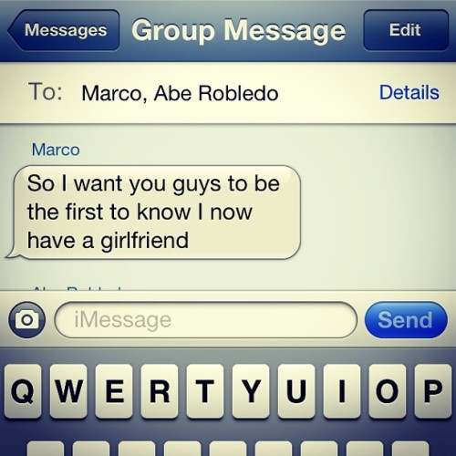 I felt so special that day. 😂 @marconiusrex @aberazzi