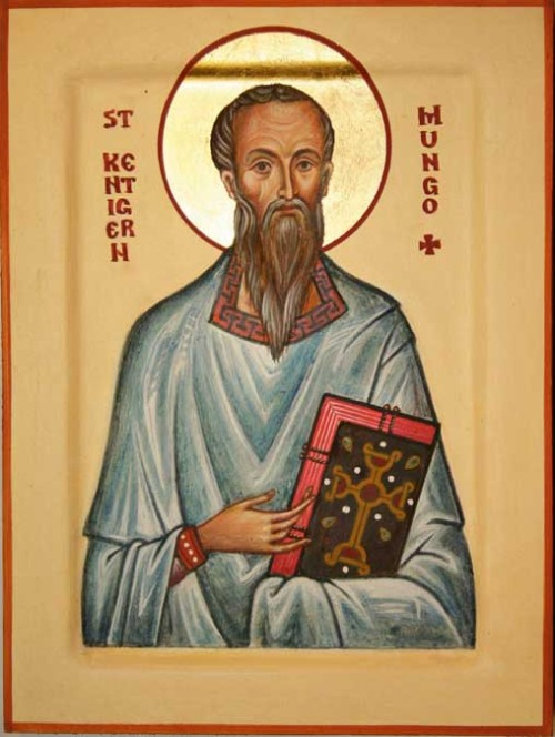 "affcath:  On January 14, the Orthodox and Anglican churches commemorate Saint Kentigern, Missionary Bishop to Strathclyde and and Cumbria (in Scotland) in the late 6th century CE, commonly referred to as ""Saint Mungo"".   Almighty and everlasting God, we thank you for your servant Kentigern, whom you called to preach the Gospel to the people of northwestern Britain. Raise up in this and every land evangelists and heralds of your kingdom, that your Church may proclaim the unsearchable riches of our Savior Jesus Christ; who lives and reigns with you and the Holy Spirit, one God, now and for ever. Amen."