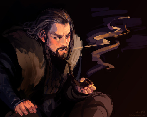 henneth-annun-ru:  thorin by ~littleulvar