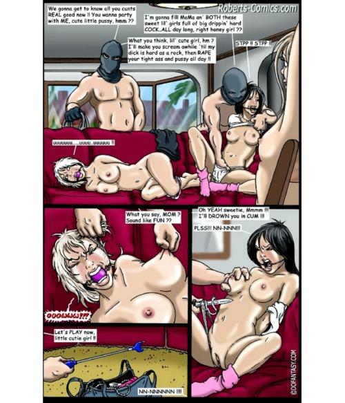 Черный фургон порно комикс