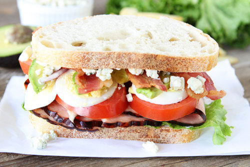 cobb salad sandwich.
