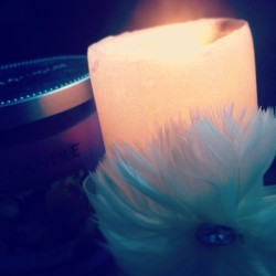 Candles are so peaceful #mmm #cute #pretty #candle #flame