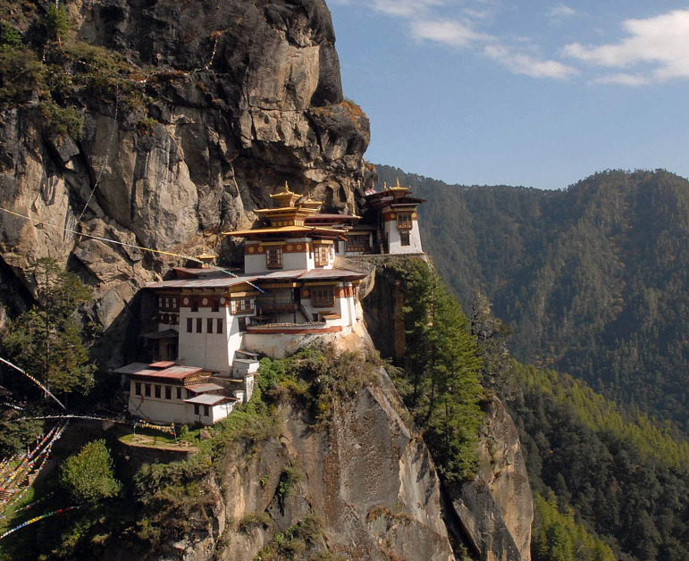 kateoplis:   In 1971, the tiny Himalayan kingdom of Bhutan introduced a model of measuring prosperity not by GDP but through Gross National Happiness (GNH), a system of governance based on four pillars: equitable social development, cultural preservation, conservation of the environment, and promotion of good governance. In 2009, the GNH model began to be integrated into the education system through the Green Schools for Green Bhutan initiative.    Schools in Bhutan are being encouraged to put the principles of GNH at the heart of education in an effort to make learning more relevant, thoughtful and aligned with sustainable practices. The government has introduced a GNH-based national curriculum, and Unicef Bhutan has funded a training programme for headteachers to help schools implement the scheme at classroom level.   The Jigme Losel primary school in the capital, Thimphu, is considered a model of the green schools mindset. The school has introduced practical programmes, including basic agricultural skills, to teach the more than 800 pupils about conservation. Each class has its own tree to care for, and there is a communal vegetable patch and flower garden for the children to manage. The school runs a sustainable food programme feeding low-income students and their families.   Children are taught about conserving natural resources, climate change and the dangers of deforestation and pollution. 'Most of our country is mountainous, but here in the city I think the children can feel disconnected,' headteacher Choki Dukpa says. 'Environmental protection is enshrined in our constitution, but young children have to learn why it is important to protect the environment and how the country's future prosperity depends on its conservation'. [photo]  'Let nature be your teacher' | Guardian