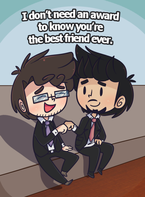 ((In response to the MTV Awards. Ted won best on-screen duo.))