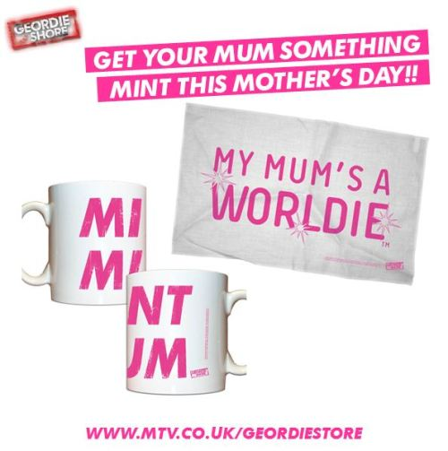 Get your mum something MINT for mothers day from the #Geordiestore http://bit.ly/WpTdhx #Geordieshore