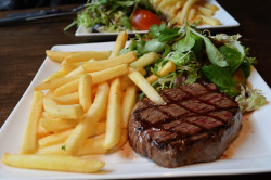 I could go for a steak right about now…