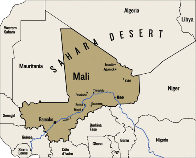 "Al Qaeda Wants Africa – Are the French in Over Their Heads in Mali? This February, after a victorious battle against Islamic insurgents in the Saharan city of Gao, the Malian army put on a tour for the assembled press. Journalists from various news outlets from around the world stood in a dusty courtyard in the heart of the city. Gao is a conservative town—the sort of place where six-month-old babies wear hijabs—and since last year, it has played host to some of the fiercest battles in an international conflict that could reach far beyond Mali's 15 million people: the fight to prevent al Qaeda from flourishing in Africa.  The press tour was supposed to be a victory celebration. French soldiers, who had offered military support to the Malian troops in the recent battle, stood silently at the edge of Gao's central courtyard and watched with amusement as the Malians led reporters around the battlefield. Gendarmes swathed in ammo belts guided the journalists around the town's courthouse, pointing out dismembered limbs and dead jihadists crumpled on the ground. One soldier called our attention to a severed head facedown in the dust. ""Is it Malian, do you think?"" I asked. The gendarme kicked it over and studied the face. Dark blood dripped from its mouth. A fly crawled up its nose. ""Nah, maybe Algerian or Nigerien,"" the gendarme said, grinning with pride. Nearby, in the town hall, next to a body hunched in a stairwell over its machine gun, the soldiers pointed out a wide streak of blood that had burst up the wall and across the ceiling. ""Suicide bomber,"" they said. ""Look, here's his head."" It was more of a face than a head, though, a puzzled countenance lying wrinkled on the floor in a dusty frown, its skull sheared off by the blast. The cameramen pointedly avoided filming it. ""You'd never get it on TV,"" one reporter later said, ""so why even bother?"" Continue"