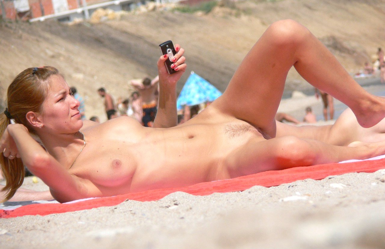 Spring break nude beach adventure