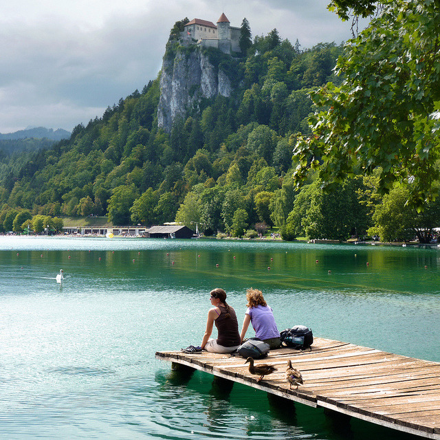 | ♕ |  Serene beauty of Lake Bled - Slovenia  | by © B℮n