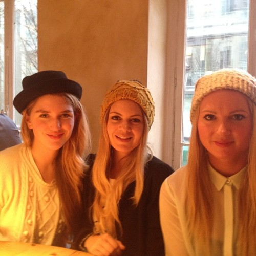 Moi, Jess, and Emilie during Paris Fashion Week!