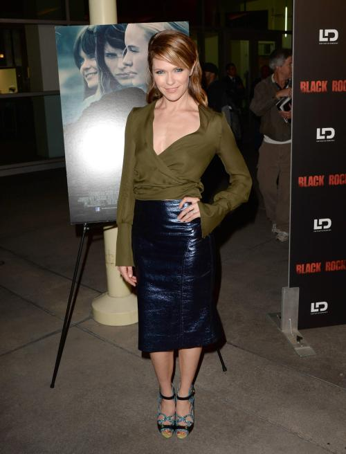 thefrenchlaura:  Katie Aselton - *Black Rock* screening in LA - May 8