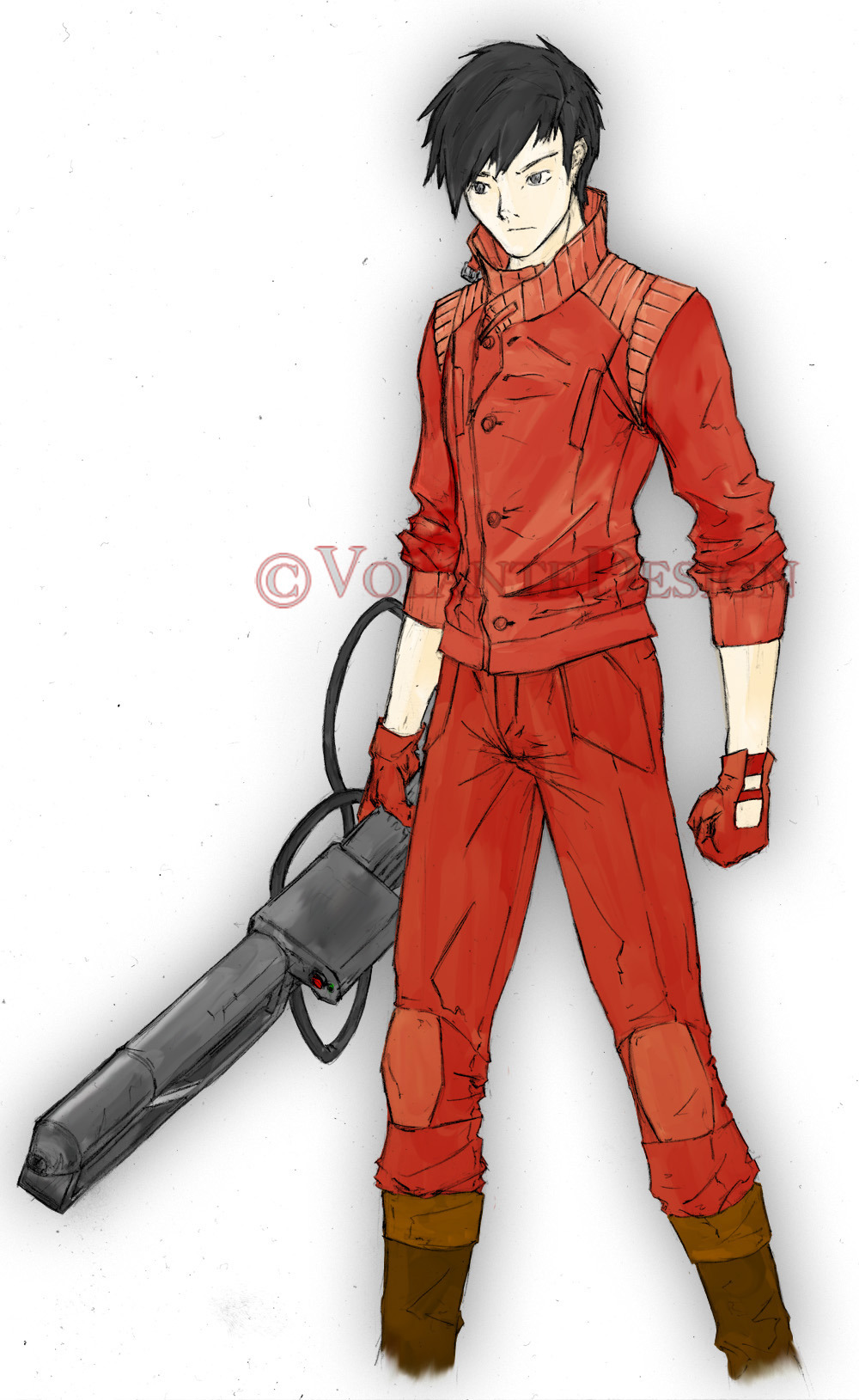 Kaneda. Complete with Pill logo on the back.