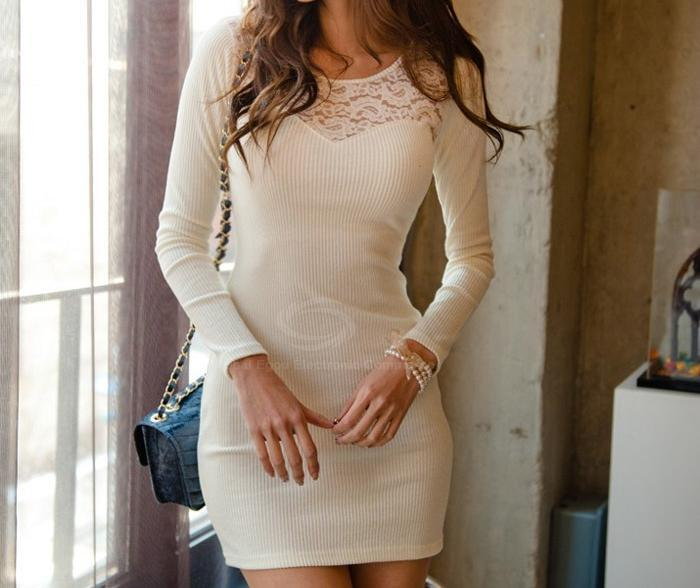 laceyfashionista:  Cotton Blend Dress