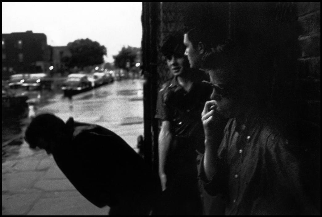 Bruce Davidson USA. New York City. 1959. Brooklyn Gang.
