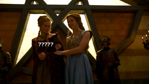 shaolionpaws:  Cersei's body language in this scene = priceless.  hahahahaha yes!