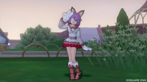 かわいいスカートドレスアップ♪