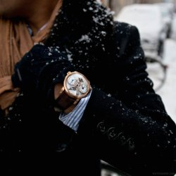 watchanish:  It's snow joke -__- MBandF Legacy Machine 1 in rose gold