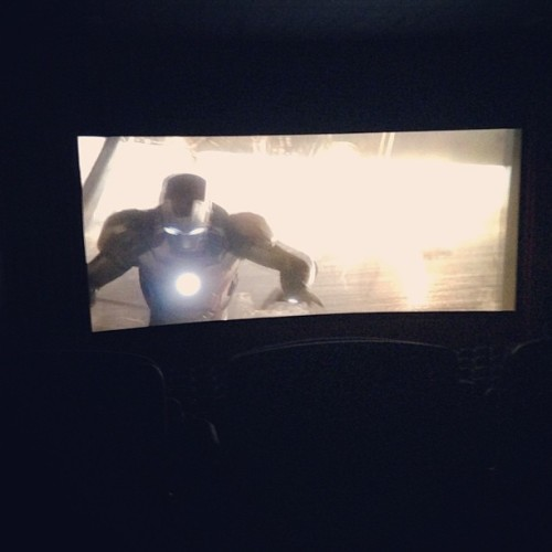 Went to see #ironman3 .. You can really see my son but he was standing the hole time watching it.. #marvel #ironman #comics #movies