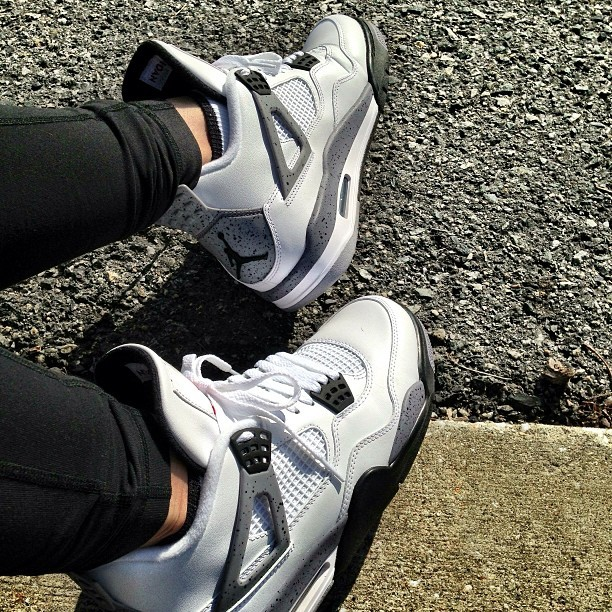 Cements #WDYWT #jordans  #nike #fitchickswithkicks #kicksonfire #sneakerhead #thrivin #chicksinkicks #kicks #fresh
