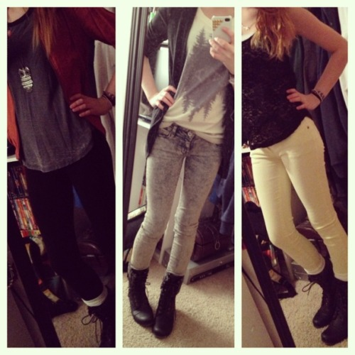 Just a few outfits I put together..