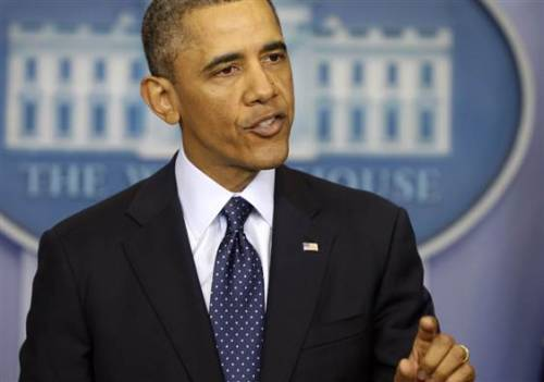 "nbcnews:  'I am not a dictator,' says Obama after failure of sequester talks with Congress leaders (Photo: Charles Dharapak / AP) President says midnight budget cuts are the ""choice"" of Republicans who stonewalled any compromise to avert them. Read the complete story."