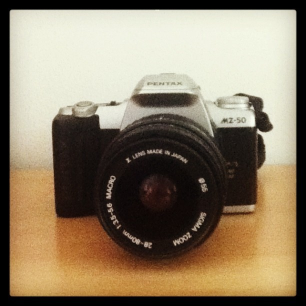 Old family film camera 