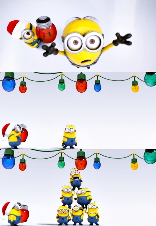 Despicable Me 2 | MINIONS VS CHRISTMAS [VIDEO]
